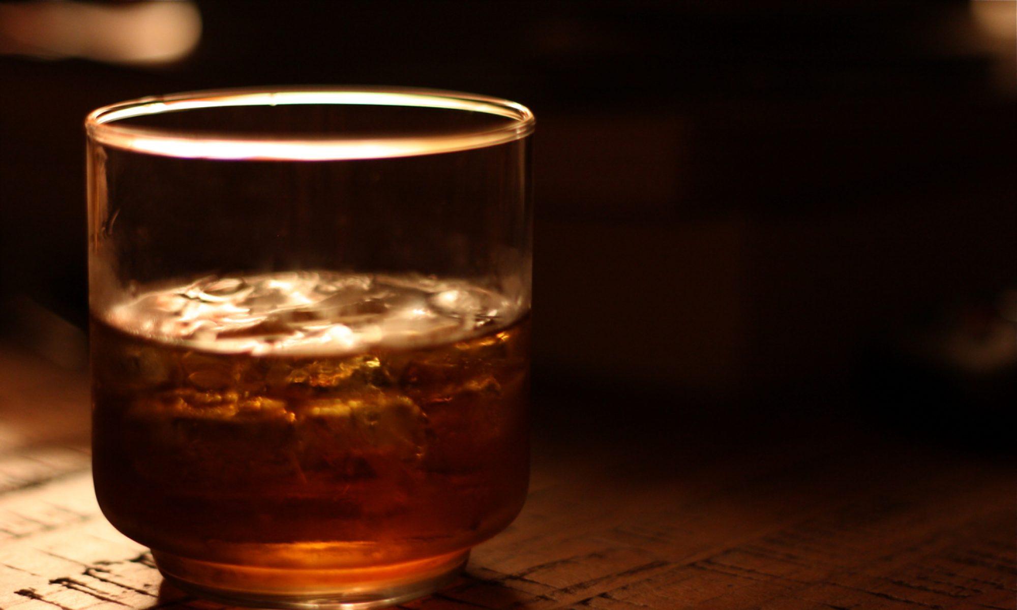Through The Whiskey Glass